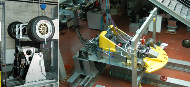 Laboratorio testing Picchio