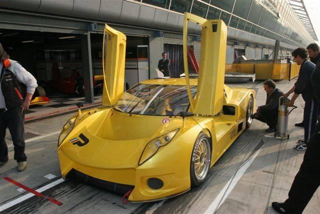 Test DP2, Monza 2005