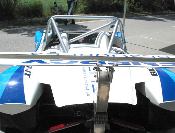 Picchio cn2, nuovoa aerodinamica per la Rieti Terminillo