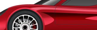 Modello auto Picchio Road Cars