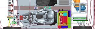 Modello auto Picchio Piattaforma per auto elettriche